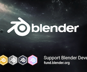 Splash screen de Blender 2.8 Beta