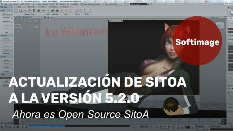 SitoA 5.2.0, addon de Arnold render para Softimage