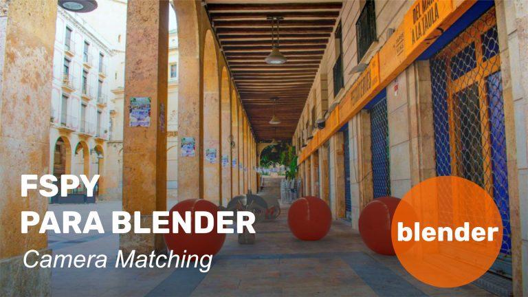 FSpy para Blender