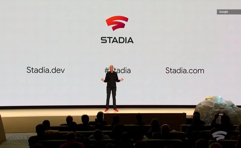 Gogole's Stadia. Viideojuegos AAA en streaming