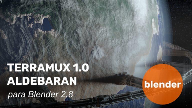 Terramux 1.0.0 - Aldebaran para Blender 2.80