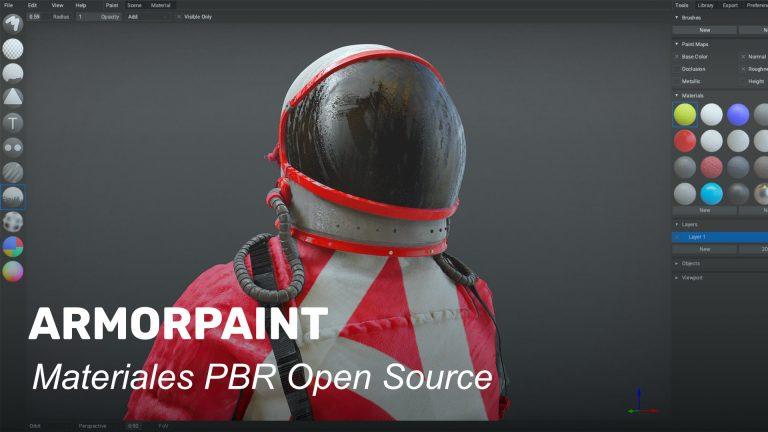 ArmorPaint. Software de creación de materiales PBR