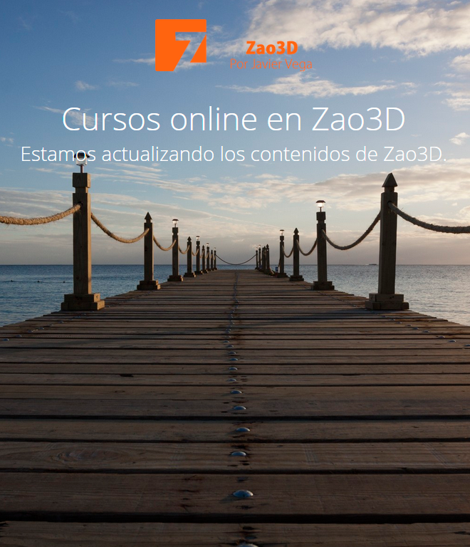 Los cursos online en Zao3D