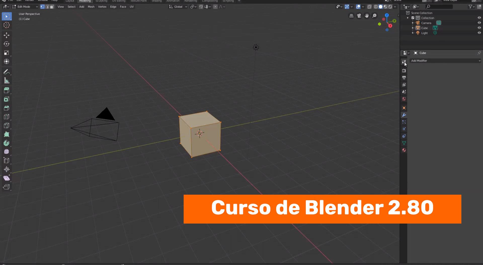 Repaso rápido al interface de Blender 2.80