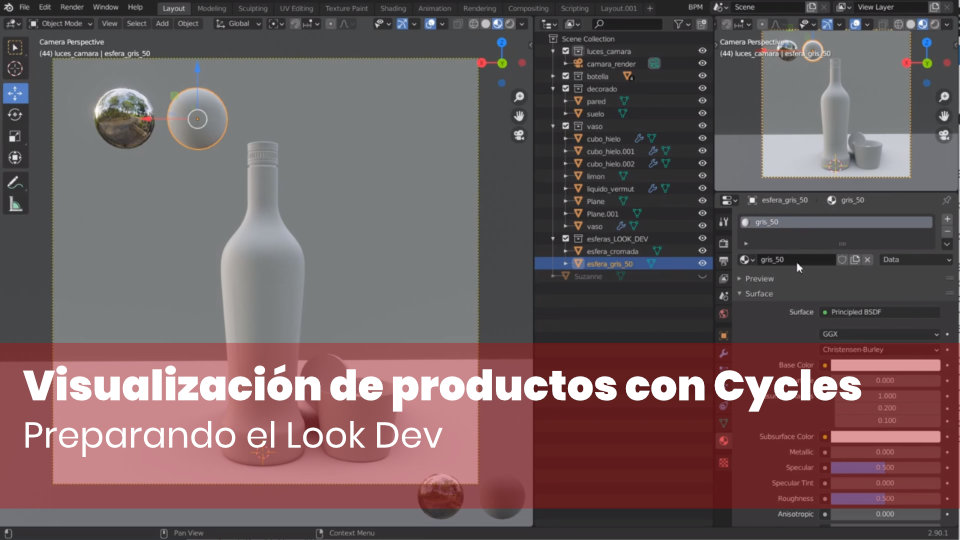 Preparando el Look Dev