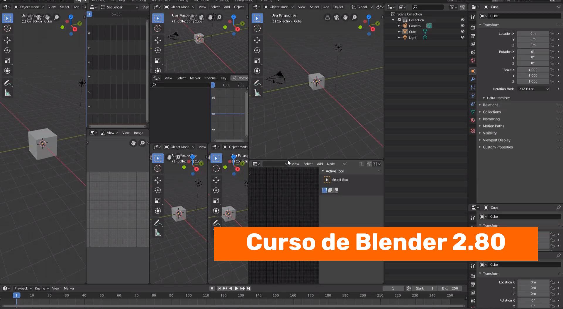 Resetear la configuración de Blender 2.80
