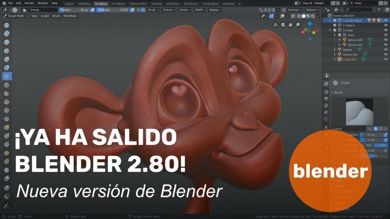 ¡Ya ha salido Blender 2.80!