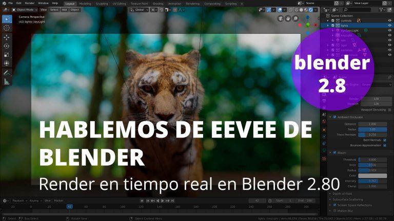 Hablemos de Eevee de Blender 2.80