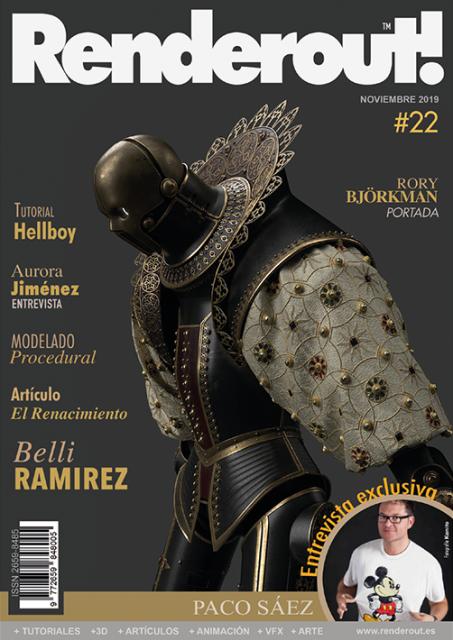 Nuevo número de NOVIEMBRE 2019 de Renderout! #22