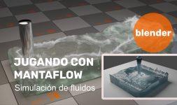 Jugando con Mantaflow en Blender 2.82 alpha