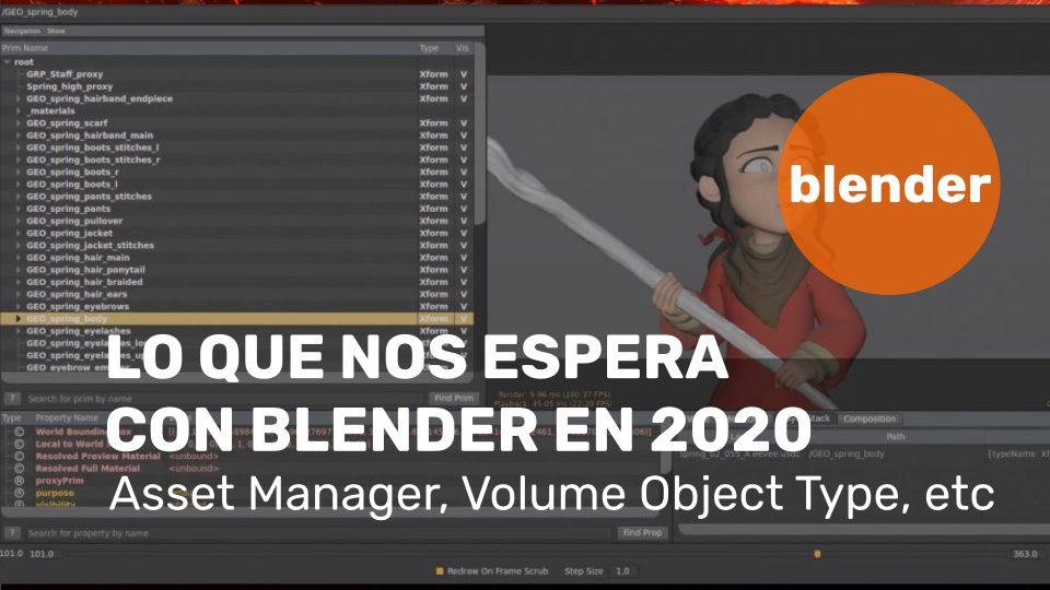 Lo que nos espera con Blender en 2020