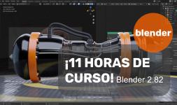 ¡11 horas del curso de Blender 2.8!