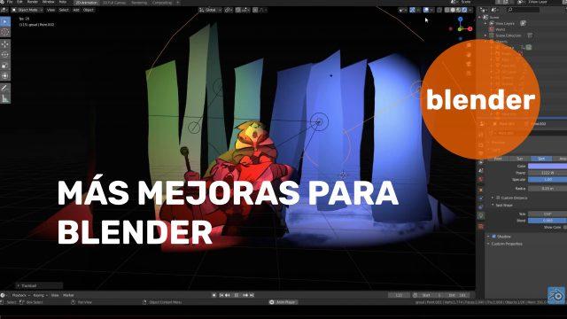 Más mejoras en Blender