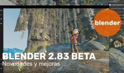 Novedades en Blender 2.83 Beta
