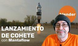 Lanzamiento de cohete con Mantaflow