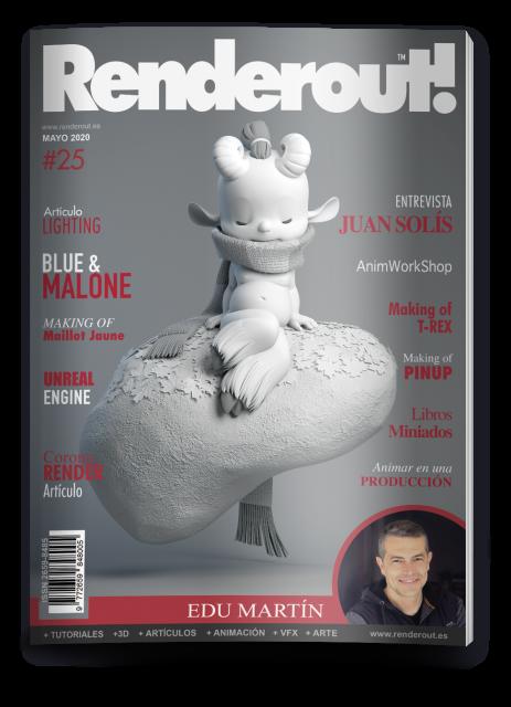 La Revista Nº1 En Español En VFX, Cine Y Animación 3D