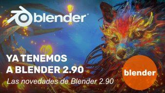 Ya tenemos a Blender 2.90