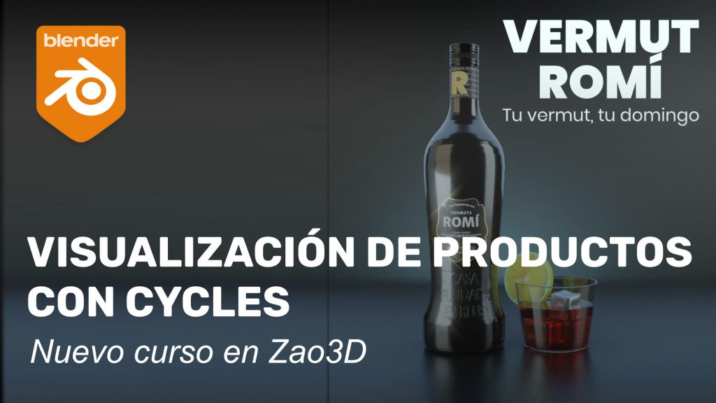 Curso de Visualización de productos con Cycles
