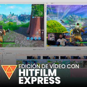 HitFilm Express. Edición de vídeo