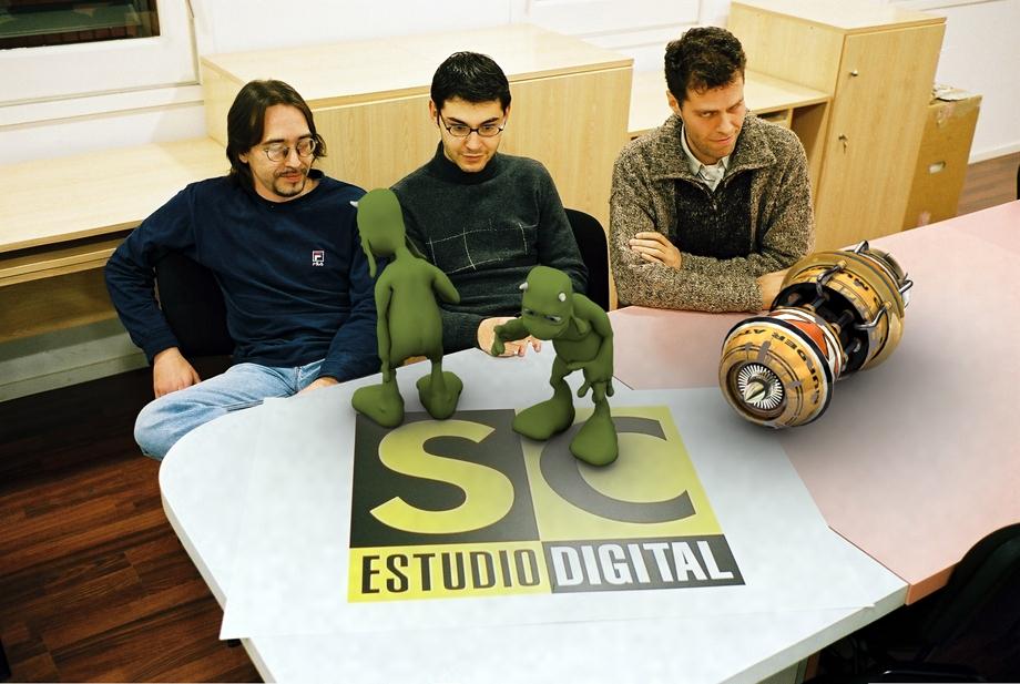 En SC Estudio Digital en 2001