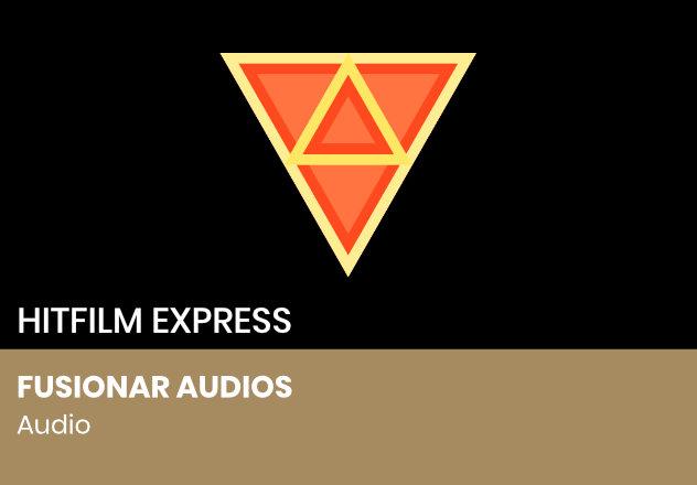 Fusionar audios