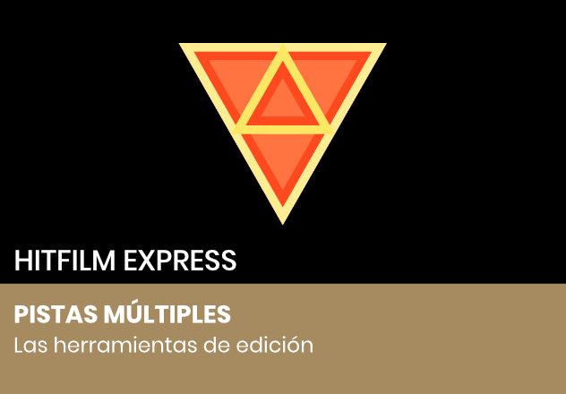 Pistas múltiples en HitFilm Express