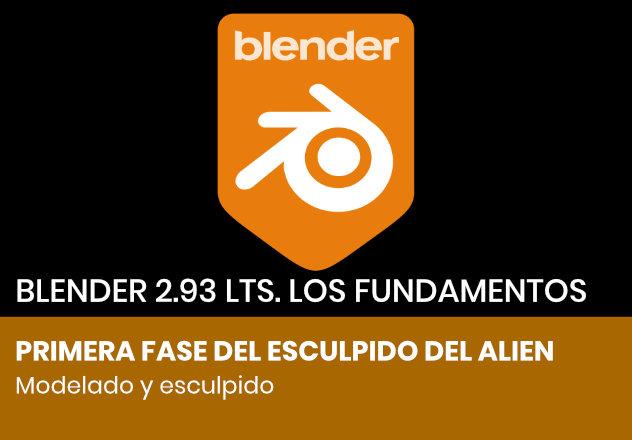 Primeros pasos del esculpido con Blender